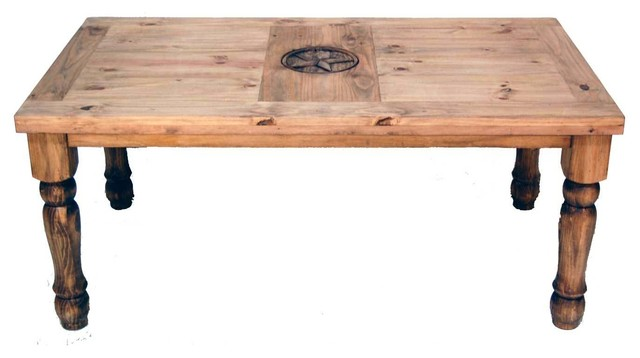 Star Furniture Dining Table: 5' Table With Texas Star Detail