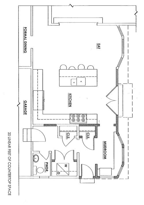 Kitchen floor plan help for Floor plan assistance