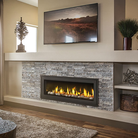 Napoleon Lv50n Vector 50 Direct Vent Gas Fireplace Contemporary Indoor Fireplaces Detroit