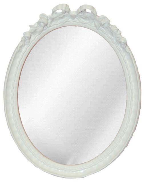 Oval Bow Mirror Farmhouse Wall Mirrors By Cpi