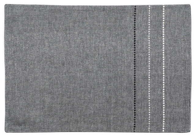 set de table gris moderne set de table par interior 39 s. Black Bedroom Furniture Sets. Home Design Ideas