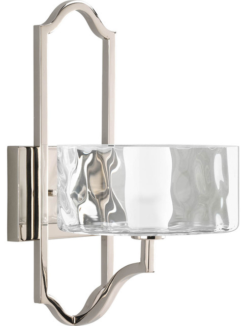 Thomasville lighting caress 1 light wall sconce with bulb for Thomasville lights