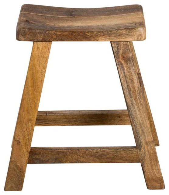 Saddle Stool Short Rustic Bar Stools And Counter