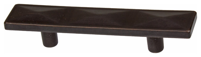 """GlideRite 2-1/2"""" Pyramid Cabinet Pull Oil Rubbed Bronze - Cabinet And Drawer Handle Pulls - by ..."""