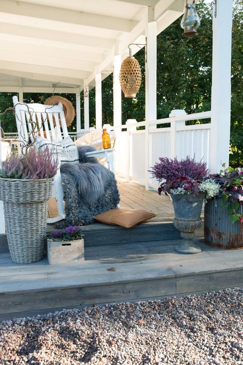Höst på verandan!