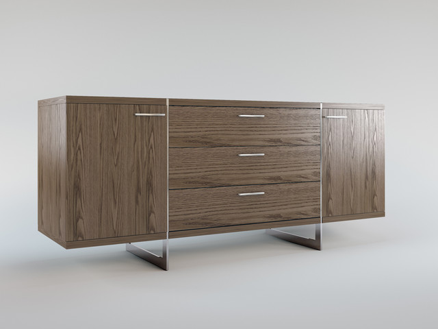greenwich contemporary modern sideboard by modloft contemporary buffets and sideboards. Black Bedroom Furniture Sets. Home Design Ideas