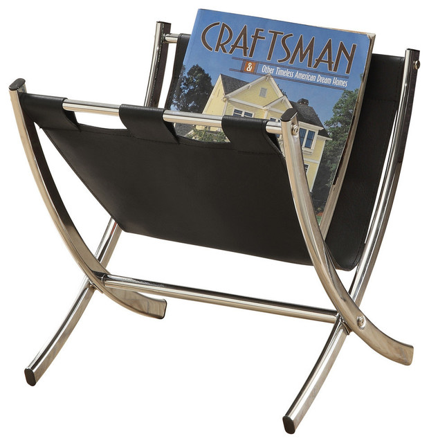Stylish metal magazine racks from Wayfair will help you organize any room, and you can also use them to enhance your decor at the same time. Clear up some space on your coffee table and side tables by using a metal magazine rack to store magazines, newspapers, books, catalogs, tablets, and .