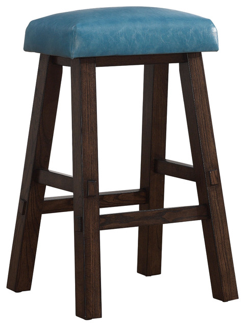 Counter Height Stools Uk : Turin Counter Height Stool in Blue contemporary-bar-stools-and-kitchen ...