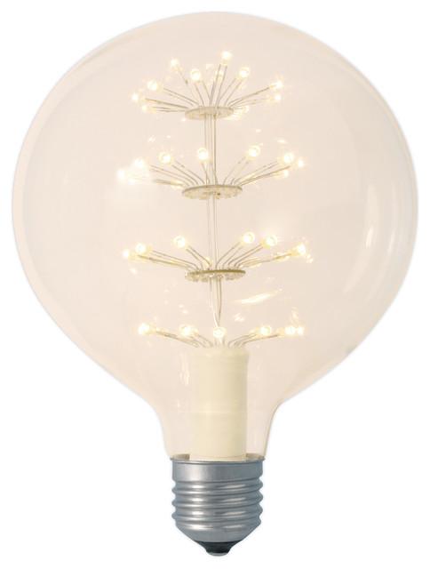Vintage Large Pearl Globe Led Light Bulb