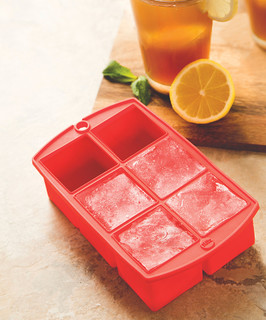 Red Mega Block Ice Tray - Contemporary - Ice Trays And Molds - by ...