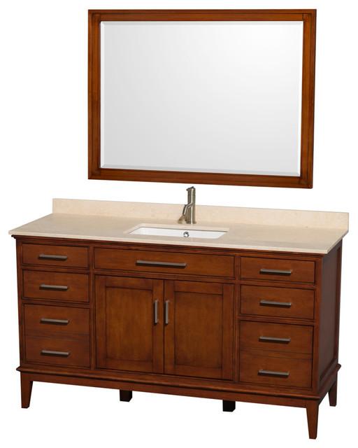 60 single bathroom vanity ivory marble countertop 44