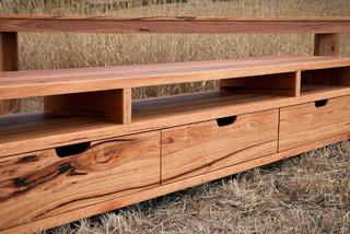 Bells Beach Modern Timber Tv Stand Contemporary