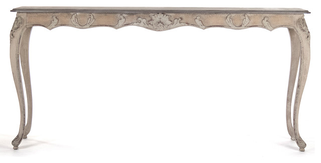 white french console table 2
