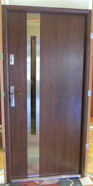 Modern exterior door model atlanta contemporary for New model front door