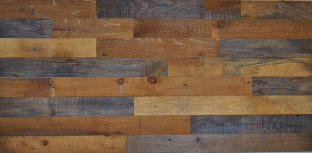 Reclaimed Wood Wall Covering Diy Barn Board Sealed And