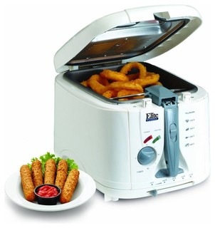 Maxi matic elite 5 quart cool touch deep fryer with timer Modern home air fryer