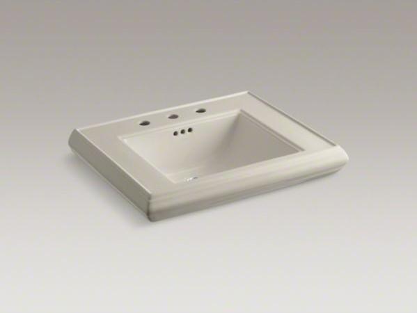 Kohler Memoirs Pedestal Sink : KOHLER Memoirs(R) pedestal bathroom sink basin with 8