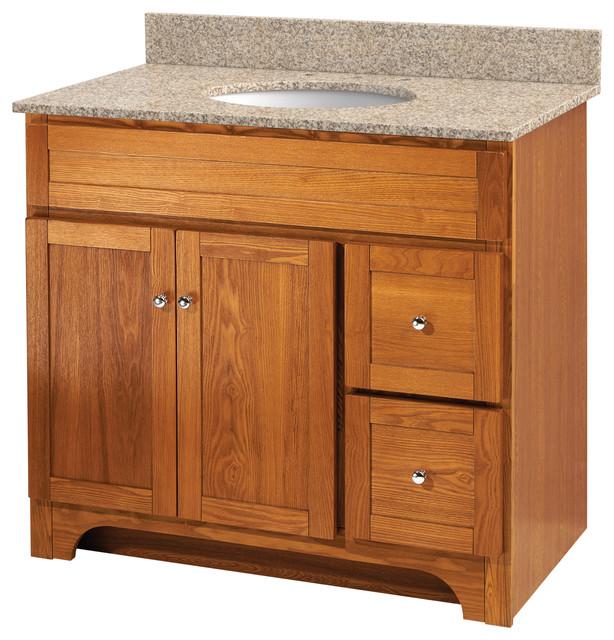 Worthington 24 Oak Bathroom Vanity Rustic Bathroom Vanities And Sink Consoles By Foremost