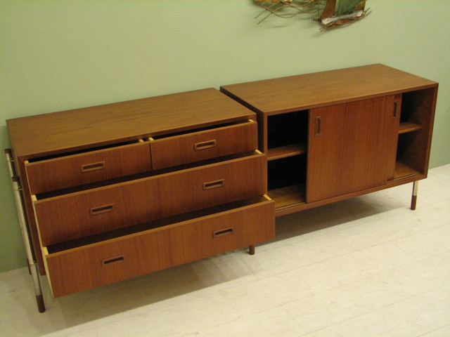 Mid Century Danish Modern Furniture - storage - Modern - Buffets And Sideboards - los angeles ...