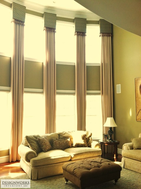 Window treatments contemporary curtains philadelphia Contemporary drapes window treatments