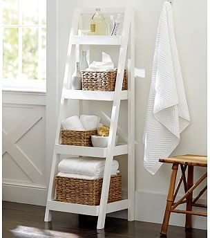 Perfect  Bath Inside Bathroom Storage Ladder Bathroom Storage Ladder With