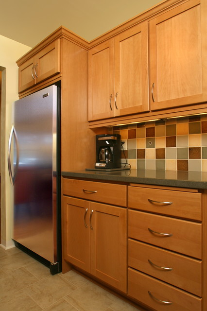 Small Kitchen Transforms To Provide Ample Storage Space