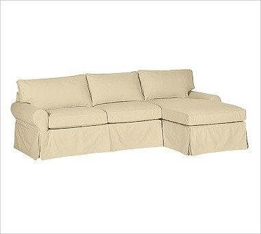 sectional with chaise down blend wrap cushions brushed c traditional