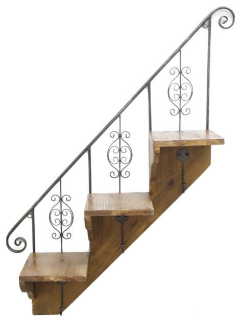 Staircase Wall Shelf modern-display-and-wall-shelves