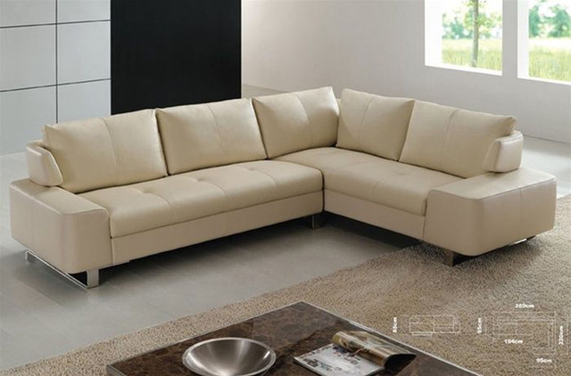 exquisite full leather corner couch contemporary sectional sofas