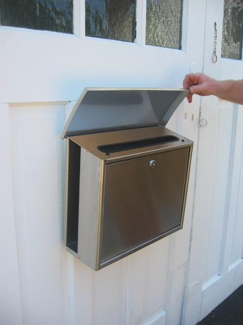 Good News Wall Mount Mailbox Contemporary Mailboxes