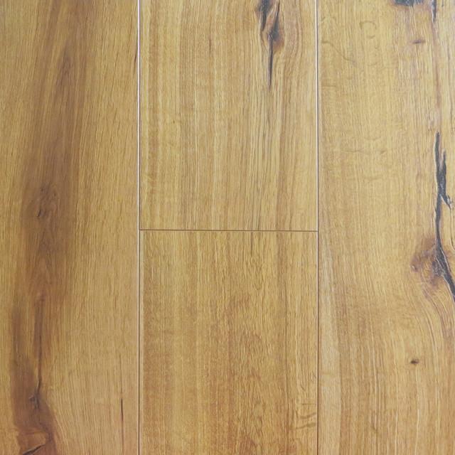 Sample of premium click lock textured laminate flooring for Click lock laminate wood flooring