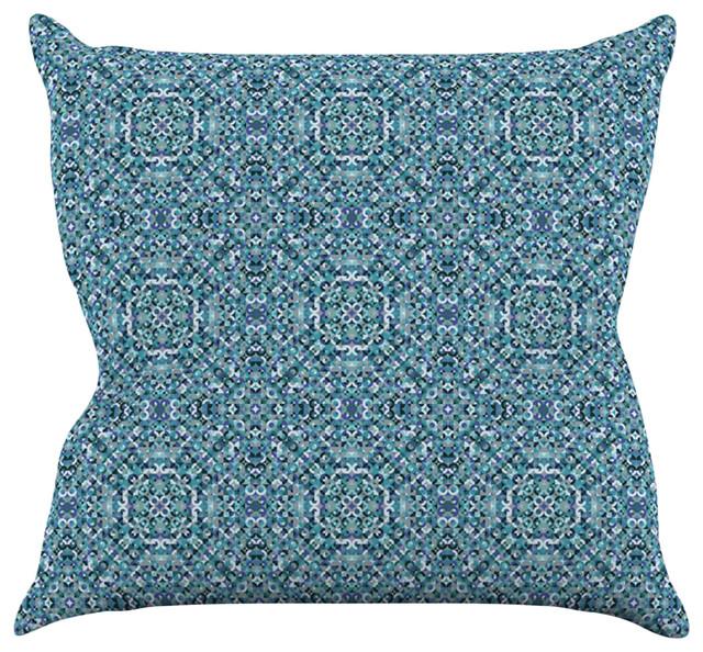 Ocean Blue Decorative Pillows : Allison Soupcoff