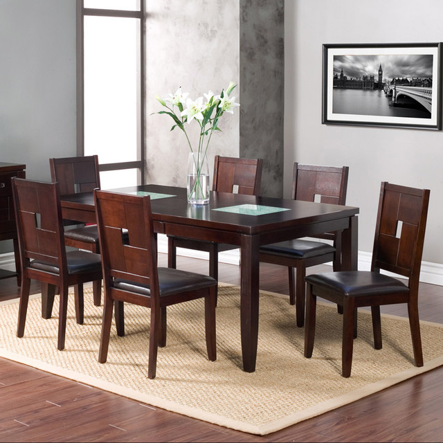 american lifestyles 7 piece lakeside extension dining