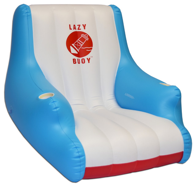 Gofloats lazy buoy floating pool chair contemporary for Pool floats design raises questions