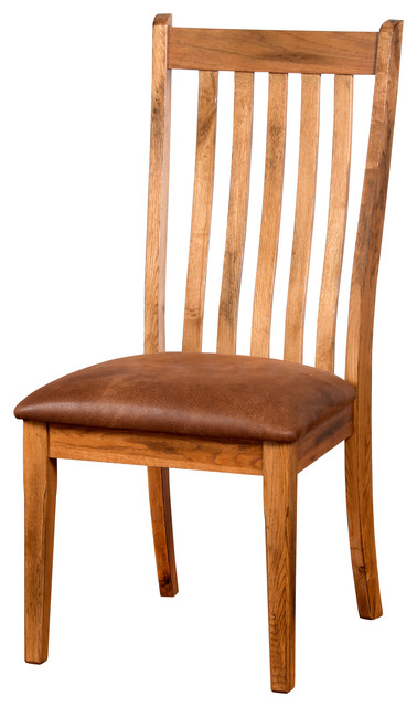 Sedona High Back Dining Chair With Cushion Rustic Dining Chairs By Sunn