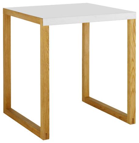 Kilo table de salle manger en m tal et ch ne massif for Table salle a manger 12 personnes