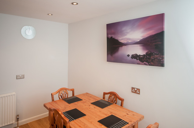 Fresco beige modern dining room yorkshire and the humber by milligan and jessop - Moderne fresco ...