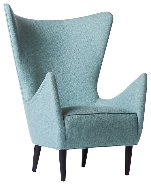 Mona wingback chair modern armchairs and accent chairs