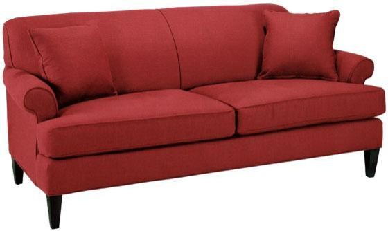 Custom avery sofa red textured traditional sofas by Home decorators collection sofa