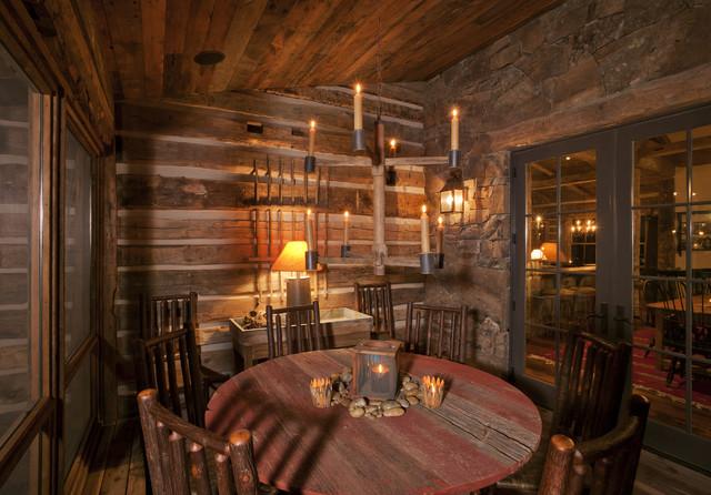 Pioneer Homestead Ranch Porch Rustic Denver By Lynne