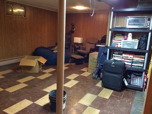 refinishing basement ideas