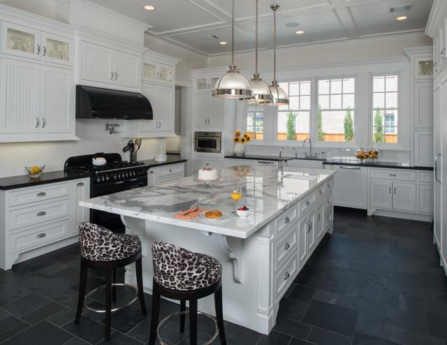 Urban Elegance Traditional Kitchen Houston By Laura Manchee Designs