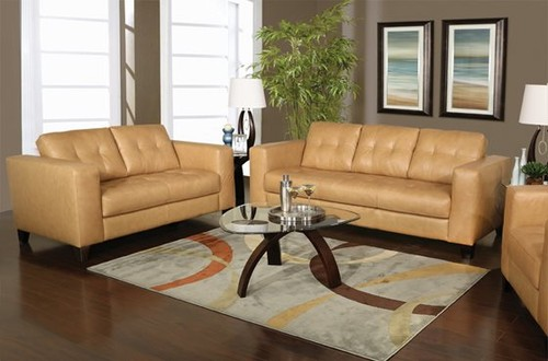 Can I Put This Color Camel Couch On Light Cider Colored