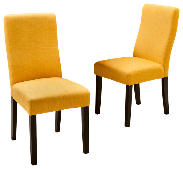 Fabric chairs dining
