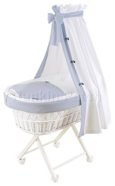 Cassidy drape crib contemporary cots cribs and cot for Drape stand for crib