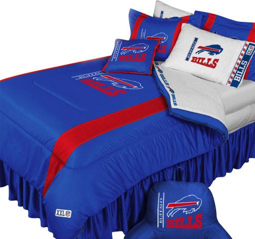 Najarian Nba Youth Bedroom In A Box: NFL Buffalo Bills Football Team Queen-Full Bed Comforter