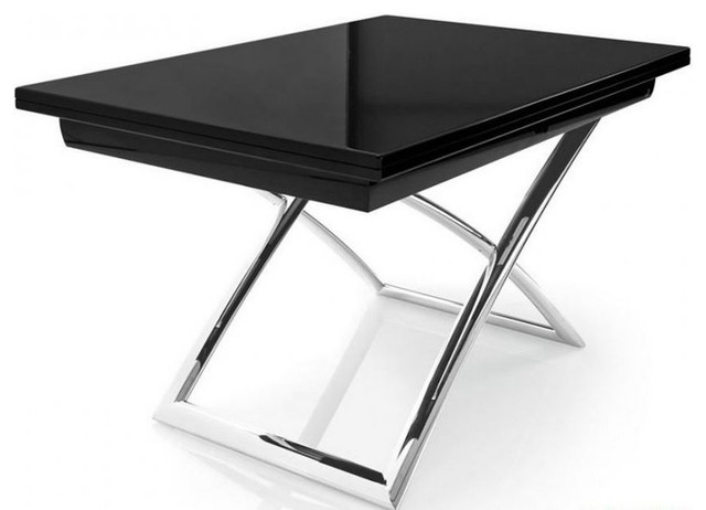 Table basse relevable extensible italienne for Table basse relevable extensible but