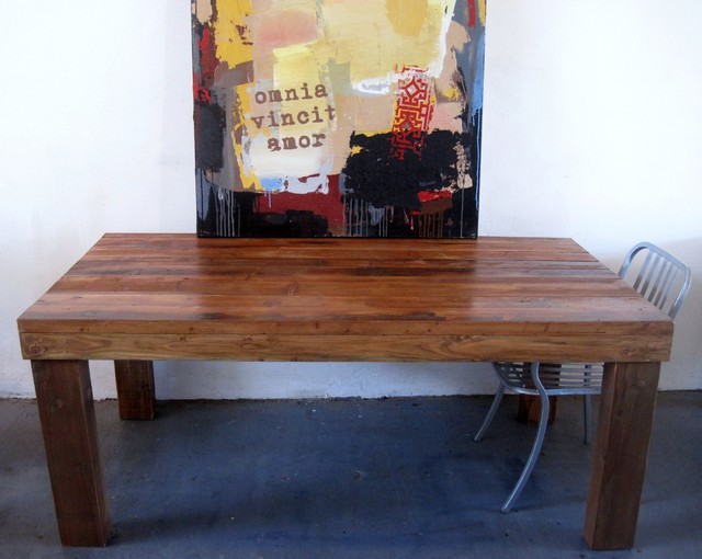 Reclaimed Wood Tables Contemporary Dining Tables Los