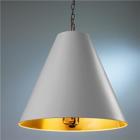 Oversized Cone Shade Pendant Contemporary Pendant Lighting By Shades Of