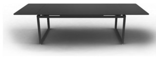 biarritz gartentisch ausziehbar bauhaus look outdoor. Black Bedroom Furniture Sets. Home Design Ideas
